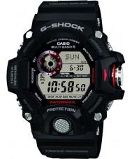 Casio GW-9400-1ER Mens g-shock Premium Triple-Sensor Radiosolarbetriebene Uhr gesteuert