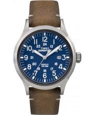 Timex TW4B01800 Mens Expedition analoge erhöhten tan Lederband Uhr