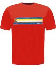 Dare2b DMT322-65740-XS Mens Multiband feurig roten T-Shirt - Größe XS