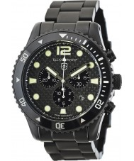 Elliot Brown 929-002-B03 Mens Bloxworth schwarzen Kohlefaser-Chronograph