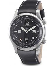 Elliot Brown 202-012-L02 Herren Bergrettung Ausgabe schwarz Uhr mit zusätzlichen gewebt schwarz ballistischen Nylonband Canford