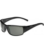 Bolle Keelback glänzend schwarz polarisierten Sonnenbrillen tns