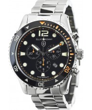 Elliot Brown 929-005-B01 Herren Bloxworth Silber Stahl Chronograph