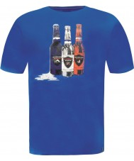 Dare2b DMT323-9PR50-S Mens Flasche Skydiver blaues T-Shirt - Größe s