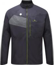 Ronhill RH-001895R848-L Mens Vizion schwarz fluro gelb Glanz Jacke - Größe L