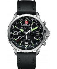 Swiss Military 6-4224-04-007 Herren arrow Chrono schwarz Uhr