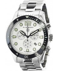 Elliot Brown 929-007-R01 Herren Bloxworth Silber Stahl Chronograph