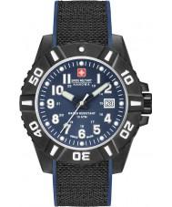 Swiss Military 6-4309-17-003 Herren schwarze Carbon Uhr