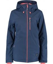 Oneill 655032-5032-L Damen Solo blaue Nächte Jacke - Größe L