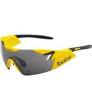Bolle 6. Sinn glänzend gelb schwarz tns Pistole Sonnenbrille