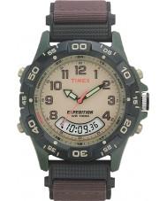Timex T45181 Herren-Creme braun Expedition Combo Uhr