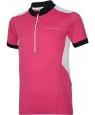 Dare2b DKT018-1Z0034 Kinder hotfoot elektrische Rosa Trikot T-Shirt - 34 Zoll