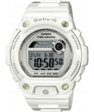 Casio BLX-100-7ER Damen Baby-g Gezeitengrafik weiße Uhr