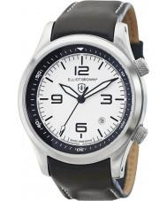 Elliot Brown 202-005-L02 Mens Canford schwarzes Lederband Uhr