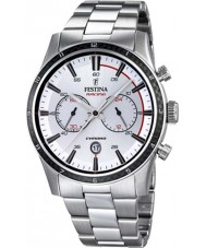 Festina F16818-1 Mens Tour of Britain 2015 alle Silber Chronograph