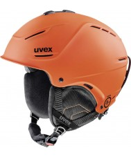 Uvex 5661538003 P1us dark orange mat Skihelm - 52-55cm