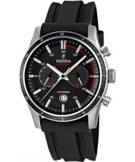 Festina F16874-I Mens Tour of Britain 2015 alle schwarz Chronograph