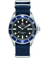 Swiss Military 6-4279-04-007-03 Herren Seelöwe blauen Nylonband Uhr