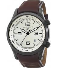 Elliot Brown 202-009-L05 Mens Canford braunes Lederarmband Uhr