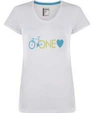 Dare2b DWT319-90010L Damen eine Liebe weißes T-Shirt - Größe uk 10 (e)