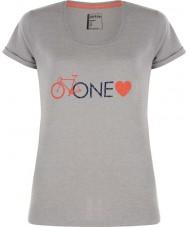 Dare2b DWT319-81I16L Damen eine Liebe aschgrau Mergel T-Shirt - Größe uk 16 (XL)