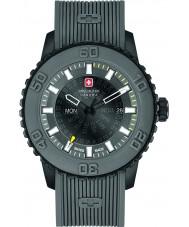 Swiss Military 6-4281-27-007-30 Mens Dämmerung grau Silikonband Uhr