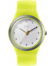 Braun BN0111WHGRL Damen Sport-grün Silikonband Uhr
