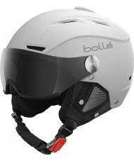 Bolle 21267 Backline Visier weichen, weißen und silbernen Skihelm - 54-56cm