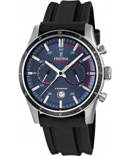 Festina F16874-G Mens Tour of Britain 2015 blau schwarz Chronograph