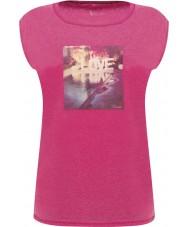 Dare2b DWT327-1Z016L Damen erholsamen elektrischen rosa T-Shirt - Größe uk 16 (XL)