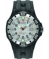 Swiss Military 6-4292-27-009-07 Mens bermuda schwarz Silikonband Uhr