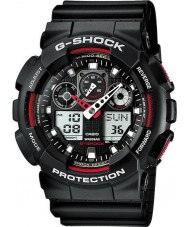 Casio GA-100-1A4ER Mens g-shock Selbstlicht Black Watch führte