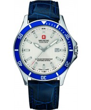 Swiss Military 6-4161-2-04-001-03 Mens Flaggschiff blauen Lederband Uhr