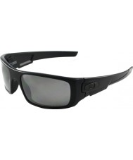 Oakley Oo9239-06 Kurbelwelle matt schwarz - schwarz Iridium polarisierten Sonnenbrillen