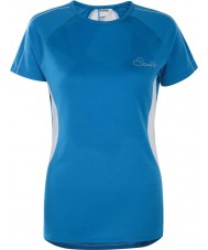 Dare2b DWT336-5NN12L Damen Reform Methyl blaues T-Shirt - Größe uk 12 (m)