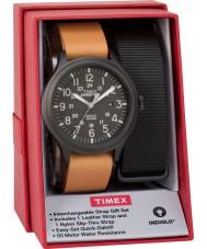 Timex TWG016200 Mens Expedition Scout Uhr Geschenk-Set