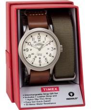 Timex TWG016100 Mens Expedition Scout Uhr Geschenk-Set