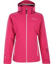 Dare2b DWP305-1Z006L Damen arbeiten bis elektrischen rosa Ski-Jacke - Größe uk 6 (XXS)
