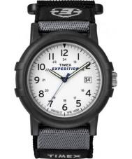 Timex T49713 Mens weiß schwarz Camper Expedition Uhr