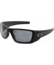 Oakley Oo9096-05 Brennstoffzelle matt schwarz - polarisierte Sonnenbrille grau