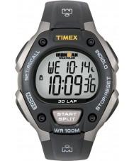 Timex T5E901 Schwarz ironman 30 Runde in voller Größe Sportuhr