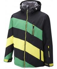 Surfanic SW121003-401-XL Mens chevy schwarz grüne Jacke - Größe XL