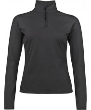 Protest 3610200-290-L-40 Damen fabrizoy true black zip top - Größe l (40)
