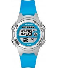 Timex TW5K96900 Damen-Marathon Mitte Größe blau Resinarmband Chronograph